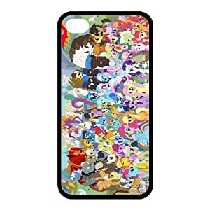 Customize Cartoon Series My Little Pony Back Case for iphone 4,4S JN4S-1222