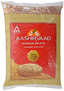 Aashirvaad Whole Wheat Flour (Atta) - 11 Lbs
