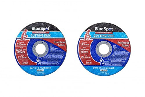 Metal Cutting Disc Flat Blade Stainless Steel 115mm Air Cut off Thin 4 1//2 10 pcs