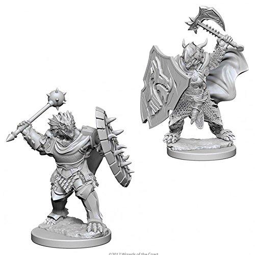 Nolzur's Marvelous Unpainted Minis: Dragonborn Male (Paladin Miniatures)