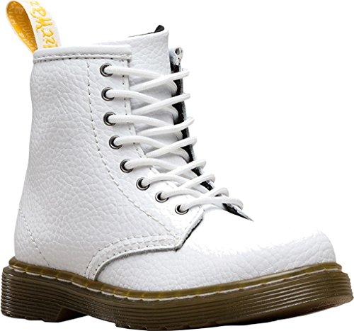 Delaneymarceline Stivali Bright per bambini misti A O White Martens time whit Dr tBYgqq