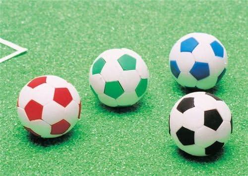 Goma de borrar balón de fútbol blanco y negro por Iwako: Amazon.es ...
