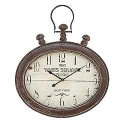 Deco 79 52122 Metal Wall Clock