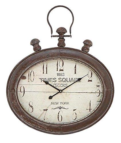 white vintage wall clock - 5