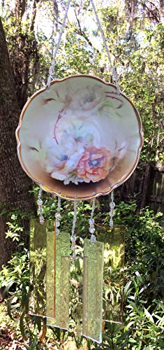 Buy vintage glass wind chimes