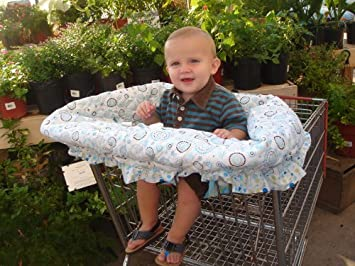 Amazon.com: Carrito de la compra/alta fundas de silla por ...