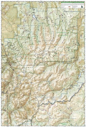 Trails Illustrated Map: Silverton, Ouray, Telluride, Lake City