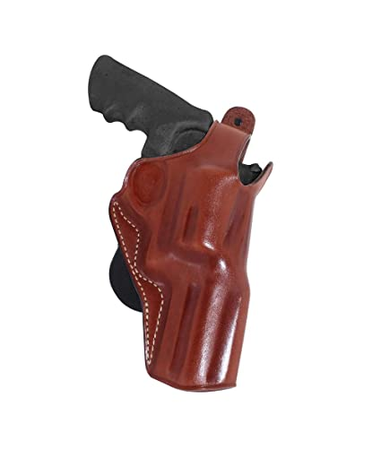 Premium Leather Paddle Holster OWB with Thumb Break Fits Smith Wesson Model  500 Magnum X-Frame 4