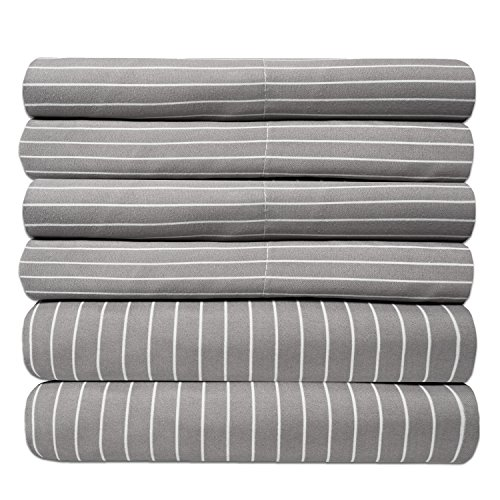 Sweet Home Collection 6 Piece 1500 Thread Count Egyptian Quality Deep Pocket (King Bed Pack)