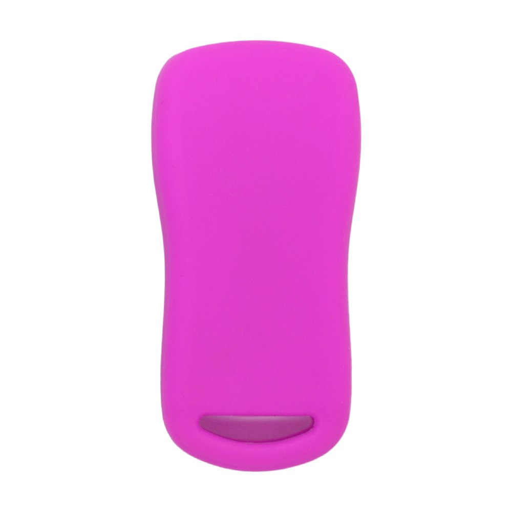 SEGADEN Silicone Cover Protector Case Skin Jacket fit for NISSAN 4 Button Remote Key Fob CV2508 Yellow