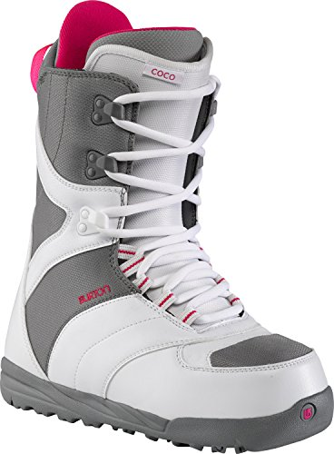 Burton Coco Snowboard Boots White/Gray Womens