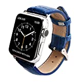 GAZE Band Cobalt Blue Croco for Apple Watch 38mm