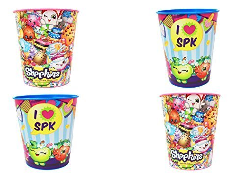 Shopkins 16oz Cups 4pk