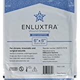 "006 ""Any Wound"" Dressing - Box of 5 Enluxtra 6""x6"" Self-Adaptive Super Absorbent Dressings for Wounds with Any Exudate Level"