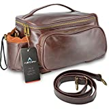 A.B Crew Retro Design PU Leather Durable Water Resistant Multi-functional Bicycle Rear Seat Trunk Bag with Shoulder Strap(Trunk Bag) offers