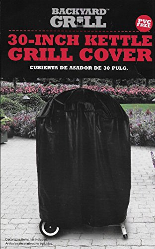 Kettle Grill Cover - Backyard Grill 30 Inch Kettle Grill Cover