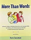More Than Words by Fern Sussman (2012) Paperback