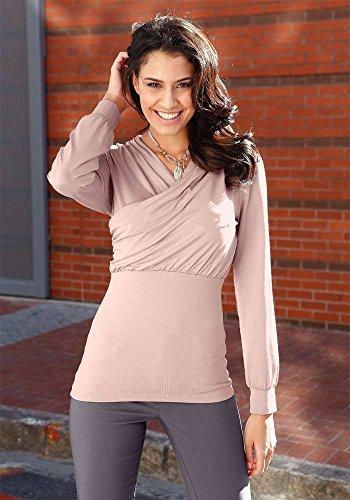 Unbekannt - Camiseta - para mujer Rosé