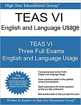 English and language teas test