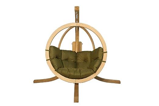 KoalaHammock Set de Madera: Silla Hamaca Swing Chair Single (2 ...