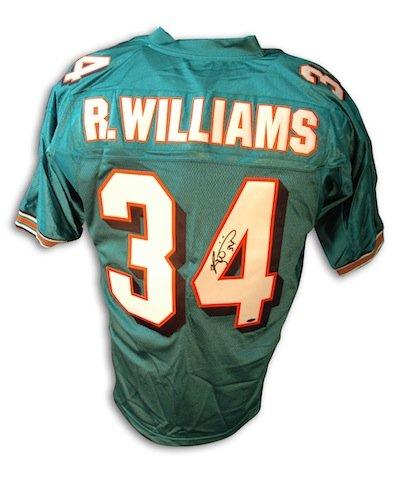 ricky williams miami jersey