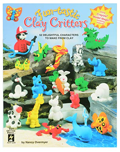 (Crafting Books by Hot Off The Press | 52 Delightful Characters to Make from Clay (Fun-Tastic Clay Critters))