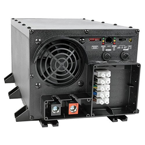 Tripp Lite APS2424 Inverter / Charger 2400W 24V DC to 120V AC 14A / 55A Hardwire (Power Supply 55a)