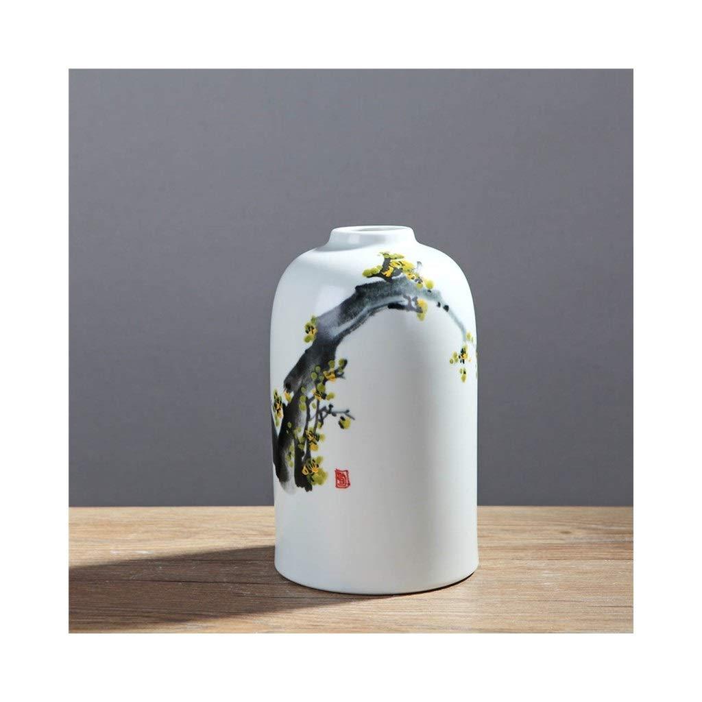 セラミック手描き花瓶現代のリビングルームテレビワインキャビネット家の装飾 (Edition : B) B07STD69L2  B