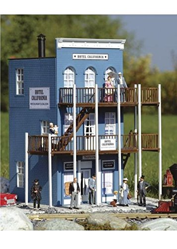 PIKO G SCALE MODEL TRAIN BUILDINGS - CALIFORNIA HOTEL - 62260