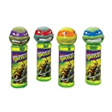 Little Kids Teenage Mutant Ninja Turtle Bottles of Bubbles (4-Pack)