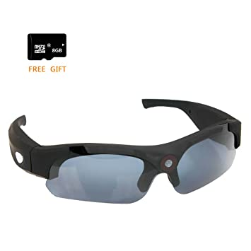 3d733386b1 Sunglasses – Zimingu® Full HD 1080P Action Camera 8 MP Spy Mini Camera  Video Audio Recorder DV Eyewear Camcorder Sports Sunglasses Polarized  Glasses
