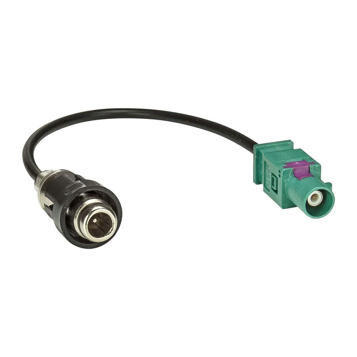 f/ür Fahrzeuge mit Fakra Antennenanschluss tomzz Audio 1600-021 Antennenadapter RAST 2 auf Fakra Stecker HC97 Male