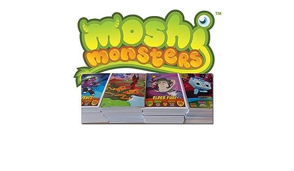 Amazon.com: 50 Assorted Moshi Monsters Trading Cards (Random ...
