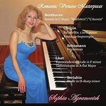 Romantic Virtuoso Masterpieces by Sophia Agranovich (2013-05-04)
