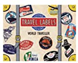 World Traveler Luggage Labels (Travel Stickers)