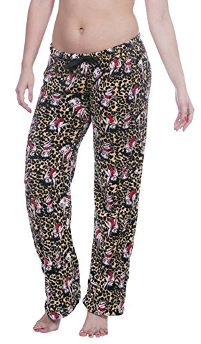Galleon - Licensed Women s Warm And Cozy Plush Pajama Lounge Pants (Large 99c2cffd7
