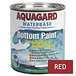 Aquagard Waterbased Bottom Paint Quart Red