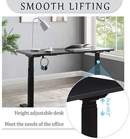 ANVAVA Dual Motor Height Adjustable Electric Standing Desk