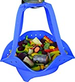 Best Food & Vegetable Silicone Steamer Basket - Super Sturdy...