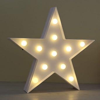 Aizesi Stern Lampe Led Nachtlicht Kinder Nachtlichter Lampen