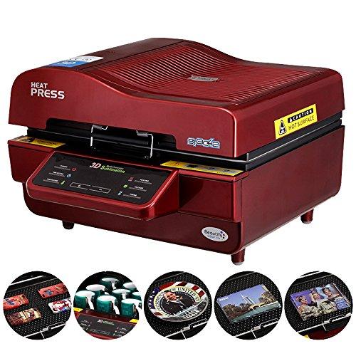 110V 3D Sublimation Heat Press Machine for Phone Cases Mugs Cups Heat Transfer (Vacuum Heat Press)