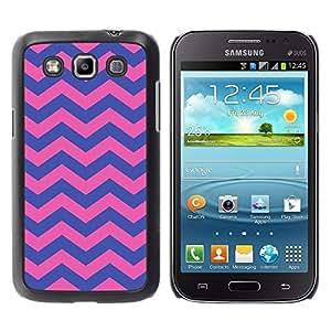 Be Good Phone Accessory // Dura Cáscara cubierta Protectora Caso Carcasa Funda de Protección para Samsung Galaxy Win I8550 I8552 Grand Quattro // Purple Pink Girly Pattern