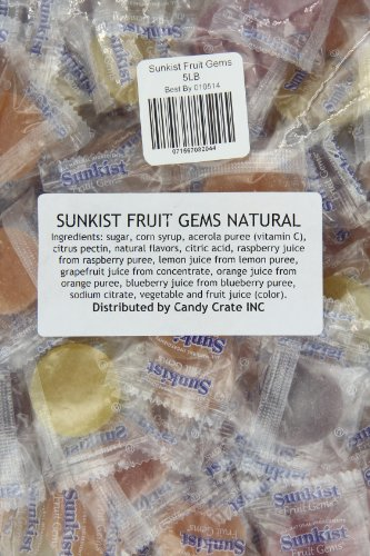 Sunkist Fruit Gems, 5-Pound Bag by Candy Crate (Image #3)