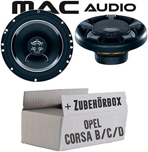 Corsa C T/ür vorne Mac Audio Opel Corsa B Vivaro Lautsprecher