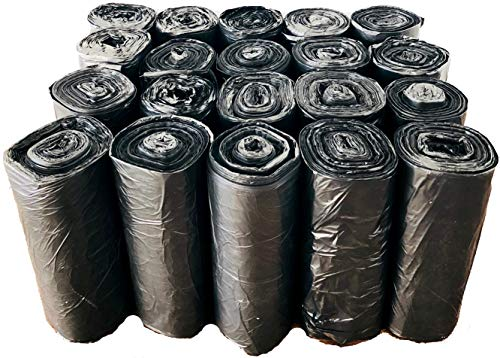 Reli. Trash Bags, 13 Gallon (Wholesale 1000 Count) - Star Seal High Density Rolls (Black) - Can Liners, Garbage Bags with 13 Gallon (13 Gal) to 16 Gallon (16 Gal) Capacity by Reli. (Image #3)