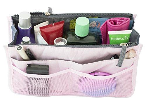 FunYoung Kostmetik Handtasche Organizer Kulturbeutel Kulturtaschen Reisen Farbwahl (Pink)