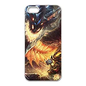 world of warcraft iPhone 5 5s Cell Phone Case White PSOC6002625707153