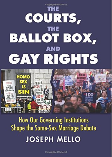 The Courts, the Ballot Box, and Gay Rights: How Our Governing Institutions Shape the Same-Sex Marriage Debate by University Press of Kansas