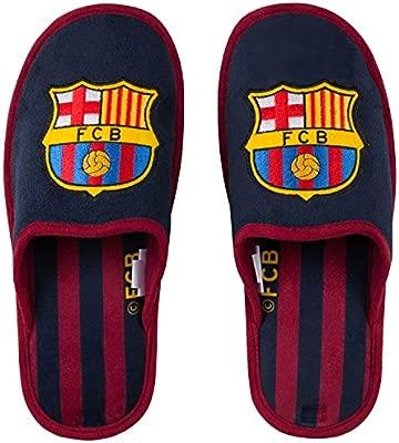 FC Barcelone - Zapatillas del Barça para hombre, colección oficial, talla de adulto