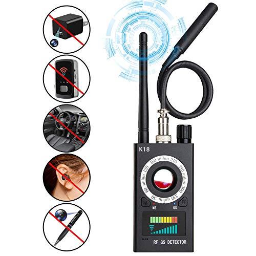 Anti Spy Camera Detector, RF Signal Bug Detector, AHNR Wireless Signal Pinhole Laser Lens GSM Detector Ultra-high Sensitivity Full-Range Tracker Finder …